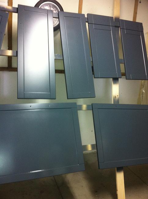 Keukenkasten Verven : Keukenkasten verven deuren beplakken